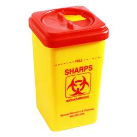 Biohazard Sharps Cont.